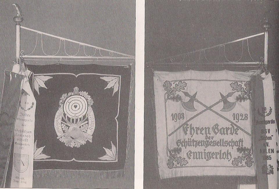 Formationsfahne Ehrengarde